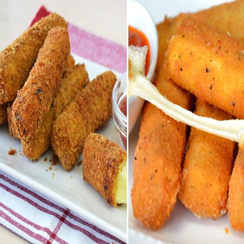 Cook yummy snacks: Cheese Sticks