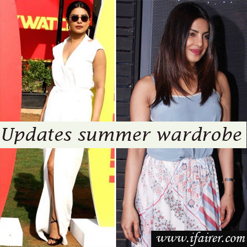 Priyanka Chopra goes all summery: breaks all the rules of fashion, priyanka chopra goes all summery: breaks all the rules of fashion,  priyanka chopra breaks all the rules of fashion,  priyanka chopra looks,  baywatch promotion lookbook,  fashion trends 2017,  latest fashion trends,  ifairer
