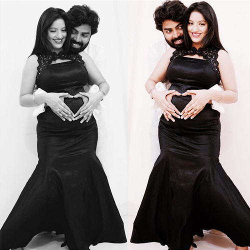Deepika Singh shares adorable maternity photoshoot pictures, deepika singh shares adorable maternity photoshoot pictures with hubby,  diya aur baati deepika singh shares adorable maternity photoshoot pic with husband on their anniversary,  tv gossips,  tv serial celebs news,  ifairer