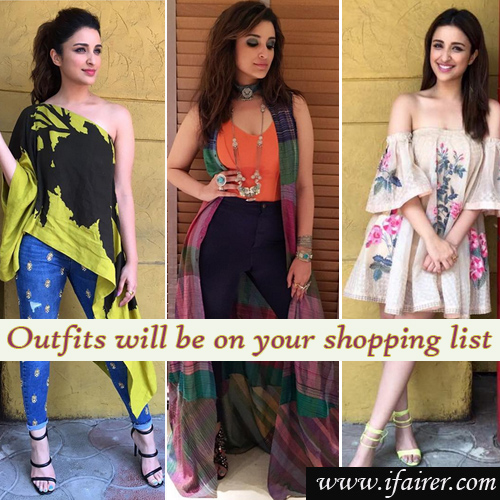 Parineeti Chopra's latest outfits will be on your shopping list, parineeti chopra latest outfits will be on your shopping list,  fashion tips for summer,  #ootd,  perfect dresses for summer dress,  fashion tips,  ifairer
