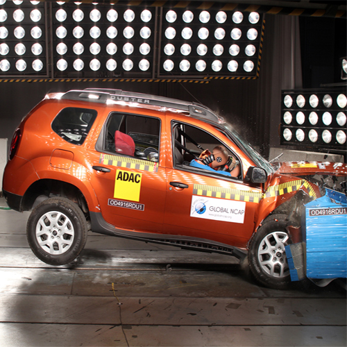 Zero star to Renault's Duster base version in Global crash test, zero star to renault duster base version in global crash test,  renault duster base version score zero star in global crash test,   base version of renault duster in score zero star in global crash test,  renault duster,  ncap crash test,  ifairer