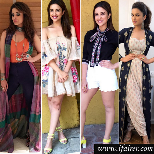 Parineeti Chopra's create new classy fashion sense in 20 outfits, parineeti chopra create new classy fashion sense in 20 outfits,  parineeti chopra latest outfits will be on your shopping list,  parineeti chopra style game for meri pyaari bindu promotion,  parineeti chopra fashion sense,  fashion trends 2017,  #ootd,  ifairer