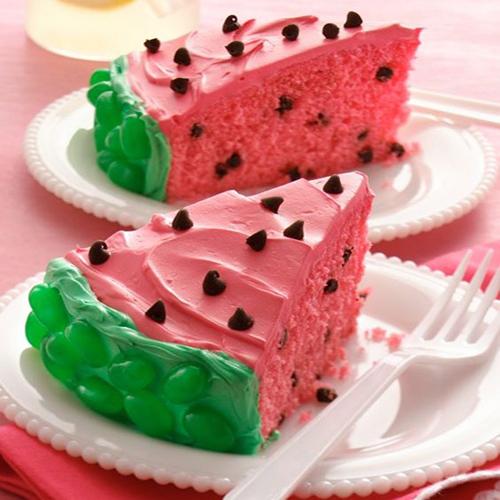 Recipe: Watermelon cake, recipe: watermelon cake,  watermelon cake recipe,  how to make watermelon cake,  desserts,  recipes,  ifairer