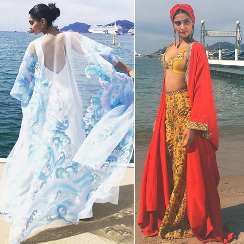 Sonam Kapoor rocks in style at Cannes 2017, sonam kapoor rocks in style at cannes 2017,  cannes 2017,   sonam kapoor style game at cannes,  sonam kapoor looks ethereal,  sonam kapoor goes neo-indian chic with an anamika khanna creation,  fashion trends 2017,  fashion statement,  ifairer