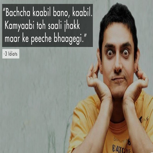 Worth-reading: Dialogues from Bollywood movies