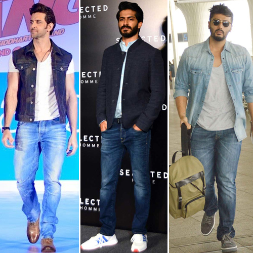 Wear classic pair of blue denims in 6 different ways, wear classic pair of blue denims in 6 different ways,  stylish ways to wear a basic pair of blue jeans,  how to wear a classic pair of blue denims,   classy combinations while wearing a blue denim,  fashion tips,  ifairer