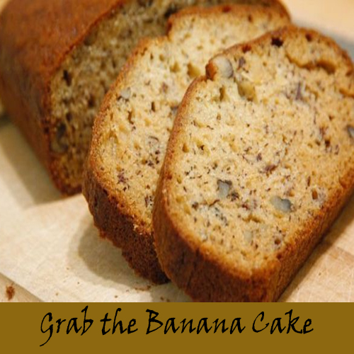 Bake Banana Cake with this easy recipe
