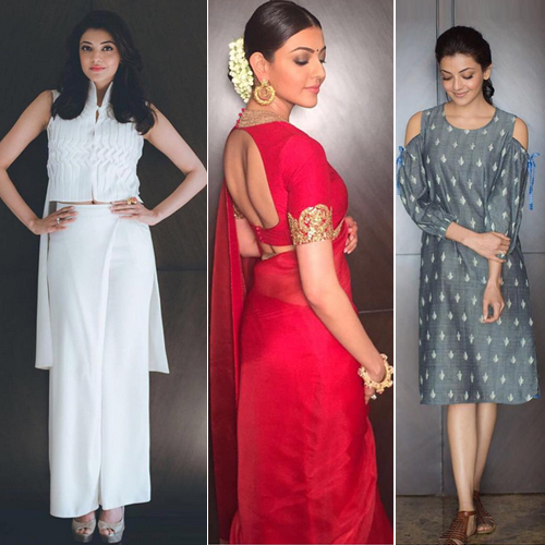 Kajal Aggarwal shows off unique fashion statements