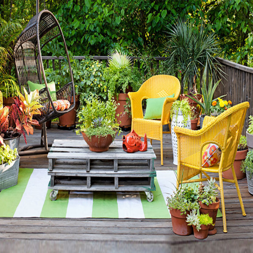 Wonderful Seating Ideas for your Patio