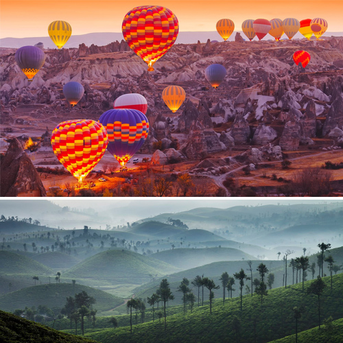 15 Magical spots: Best sunrises around the world