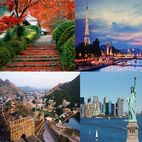 Most Beautiful Tourist Places In The World Slide 1