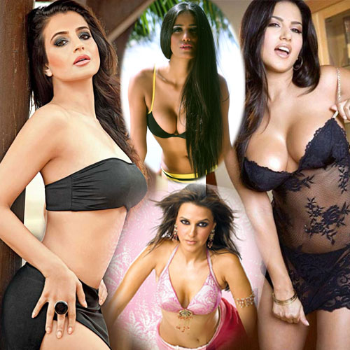 15 busty b**bs B-Town Babes, 15 busty boobs b-town actresses,  bollywood news,  bollywood gossips,  latest news,  latest news of bollywood,  ayesha takia,  bipasha basu ,  hansika motwani,  mallika sherawat,  sunny leone,  poonam pandey,  sherlyn chopra,  amisha patel,  vidya balan,  sophie hayat,  celina jaitly,  parineeti chopra,  zarine khan,  sonakshi sinha,  neha dhupia,
