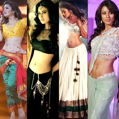 15 Most seductive waists of Indian Television , 15 most seductive waists of indian television,  beautiful hottest and sexiest indian tv actresses,  tv gossips,  krystle dsouza,  drashti dhami,  jennifer winget,  sanaya irani,  kritika kamra,  mouni roy,  nia sharma,  sanjeeda sheikh,  barkha bisht,  shweta tiwari,  mahi vij,  asha negi,  surbhi jyoti,  tejaswi wayangankar,  tina dutta