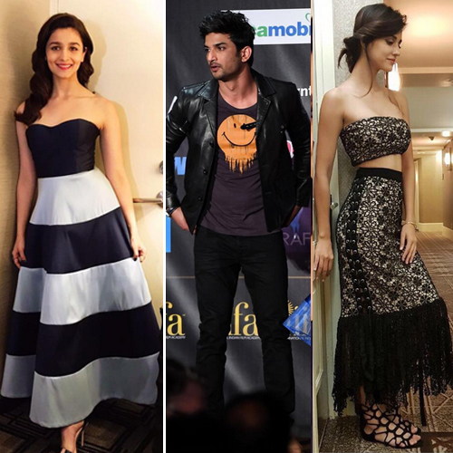 IIFA 2017 Day 1: Who wore what, iifa 2017 day 1: who wore what,  iifa 2017 day 1: alia,  disha and salman khan impress with their fashion outings,  kriti sanon brightens up our mood in this electrifying dress,  best outfits at iifa 2017,  #ootd,  latest fashion trends,  fashion trends 2017,  ifairer,  best and worst dresses at iifa 2017