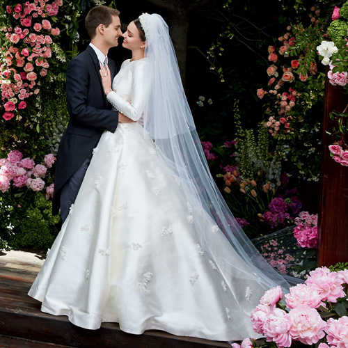 Miranda Kerr Shared Her Wedding Photos