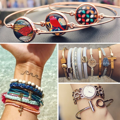 Rock this season with these type of bracelets