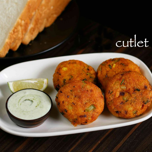 Recipe: Mixed vegetable cutlets