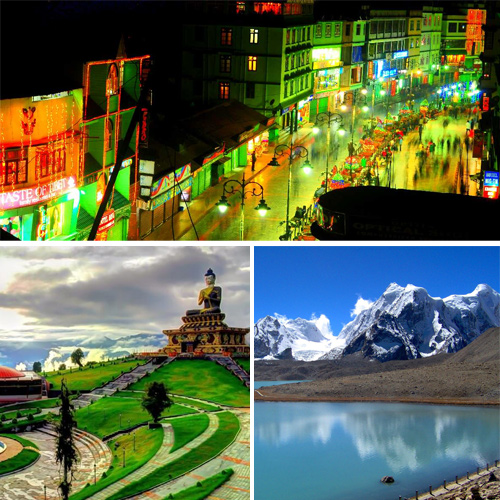 Famous tourist attractions in sikkim, must see