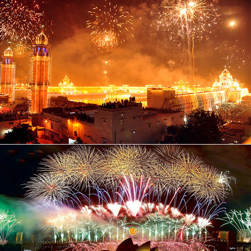 In different way: Great places to celebrate Diwali in India
