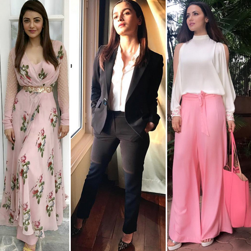 Trendy outfit ideas from Bollywood divas
