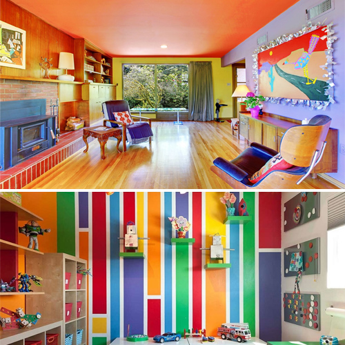 Best colors for a positive mood interior