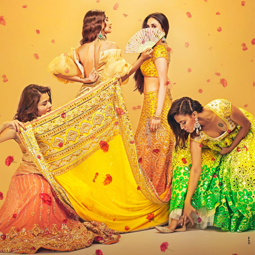 Veere Di Wedding first look: Bright and beautiful brides invite you to the wedding