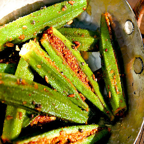 Recipe of Bhindi fry , recipe of bhindi fry,  how to make bhindi fry,  recipe,  bhindi fry,  main course,  ifairer