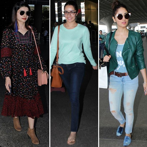 Casual Airport Fashion Trends Set By Bollywood A-Listers