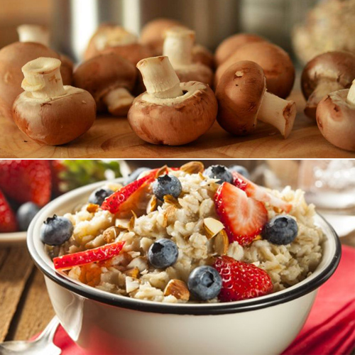 Eating Mushrooms, Porridge and Eggs daily boost your libido, study