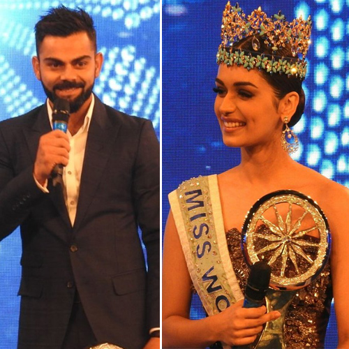 Manushi asked Virat Kohli an interesting question, here's to know, miss world 2017 manushi chhillar asked virat kohli an interesting question,  here to know,  miss world 2017 manushi chhillar,  virat kohli,  general articles,  ifairer
