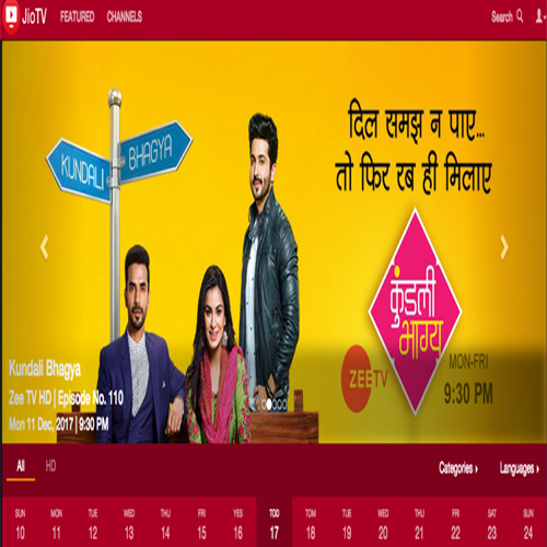 Reliance Jio introduces web version of JioTV, watch all channels, reliance jio introduces web version of jiotv,  watch all channels,  reliance jiotv web version,  jiocinema,  reliance jio,  gadgets,  technology,  ifairer