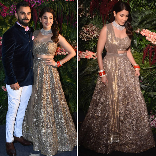 Virunshka's wedding reception: Who wore what, virunshka wedding reception,  celebs at virat kohli & anushka sharma wedding reception,  virat kohli & anushka sharma wedding reception,  fashion trends 2017,  latest,  fashion trend,  #ootd,  ifairer