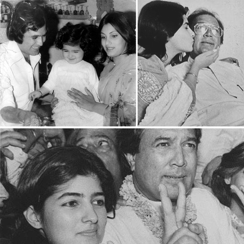 Twinkle Khanna's throwback photos with dad Rajesh Khanna, twinkle khanna throwback photos with dad rajesh khanna,  twinkle khanna birthday special,  rajesh khanna birth anniversary,  bollywood news,  bollywood gossip,  ifairer