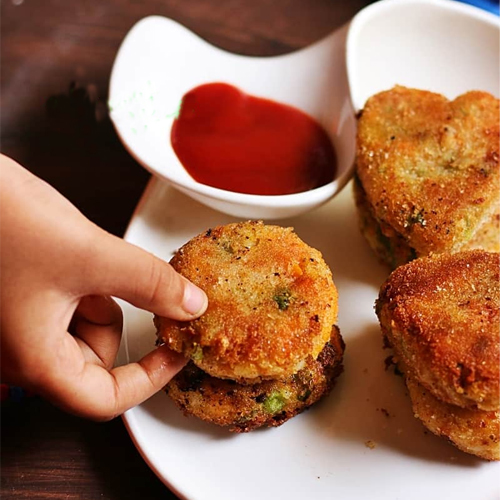How to make vegetable cutlet at home