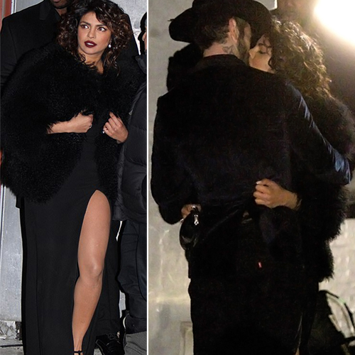 Priyanka Chopra caught kissing on the streets of NYC