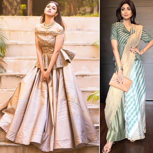 Fashion trends: Desi look with western touch