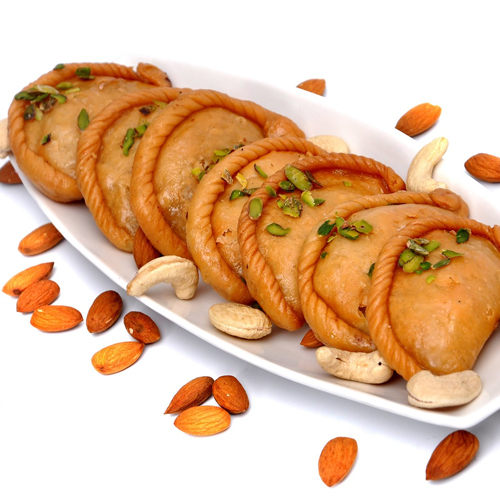 How to make gujiya at home, how to make gujiya at home,  sooji gujiya,  gujiya recipe,  desserts,  recipe,  ifairer
