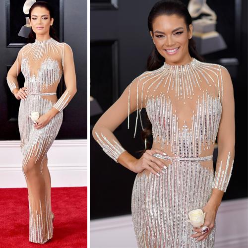 efa56c05cf3e Grammys 2018 red carpet looks  Best and worst-dressed celebs Slide 2 ...