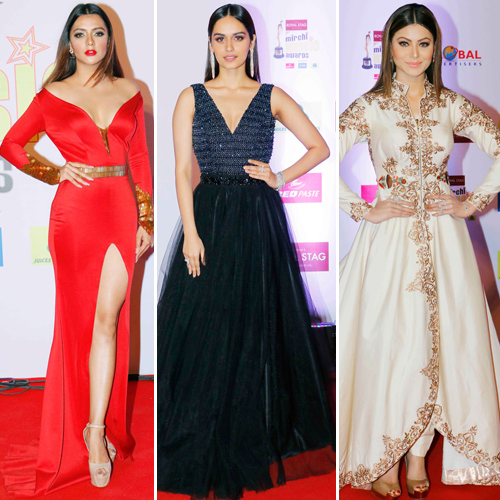 Find out fashionable Divas at Mirchi Music Awards 2018, find out fashionable divas at mirchi music awards 2018,  urvashi rautela,  manushi chhillar,  10th mirchi music awards 2018,  fashion tips,  ifairer
