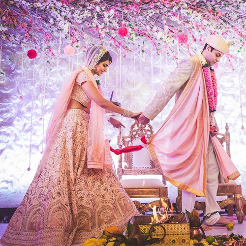 Why Indian couple take 7 Pheras during wedding, why indian couple take 7 pheras during wedding,  significance of seven pheras,  wedding,  saat pheras,  hindu wedding,  spirituality,  ifairer
