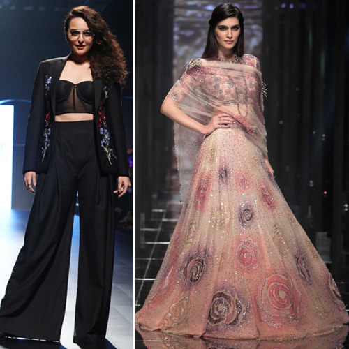 LFW 2018:Lot of over-styling from desi to western, lakme fashion week 2018,  lot of over-styling from desi to western,  ramp walk,  ramp walk,  fashion tips,  fashion trends 2018,  summer collection,  ifairer