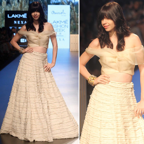 LFW 2018:Lots of over-styling from desi to western, lakme fashion week 2018,  lot of over-styling from desi to western,  ramp walk,  ramp walk,  fashion tips,  fashion trends 2018,  summer collection,  ifairer