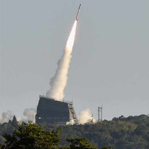 World's smallest rocket launches with the ability to put micro-satellite into orbit, world smallest rocket launches with the ability to put micro-satellite into orbit,  japan,  japan aerospace exploration agency (jaxa),  new invention,  gadgets,  ifairer