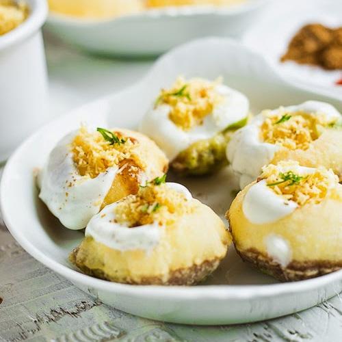 Dahi Puri Recipe, make dahi puri at home,  recipe for dahi puri,  how to make dahi puri,  desserts,  ifairer