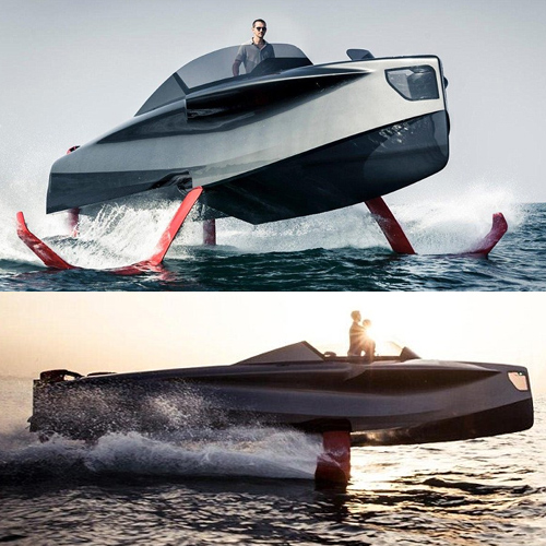 Incredible flying superyacht that can tackle waves of up to 5 feet, incredible flying superyacht that can tackle waves of up to 5 feet,  flying superyacht,  automobiles,  technology,  new invention,  technology
