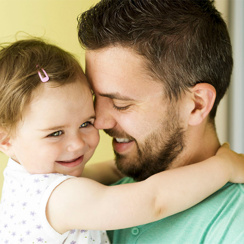 Babies who resemble their fathers are more likely to be healthy