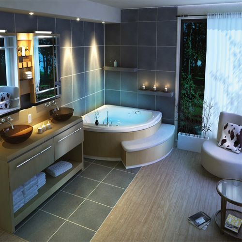 Choosing the right tiles for a bathroom