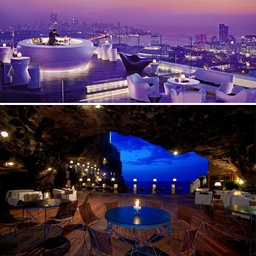 World's most amazing restaurants with spectacular views