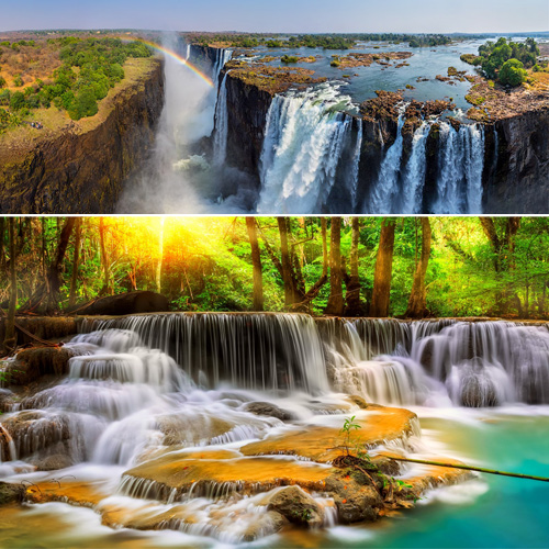 World's most beautiful waterfalls will amaze you, world most beautiful waterfalls will amaze you,  most amazing waterfall,  world best waterfalls,  greatest waterfalls,  destinations,  travel,  places,  ifairer