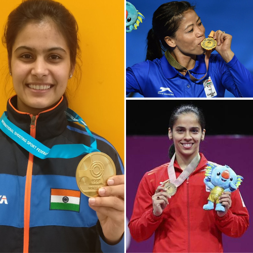 CWG 2018: Women shines this year with 13 gold, 11 silver, 7 bronze, cwg 2018,  women shines this year with 13 gold,  11 silver,  7 bronze,  2018 commonwealth games,  66 medals in total,  26 gold medals,  ifairer